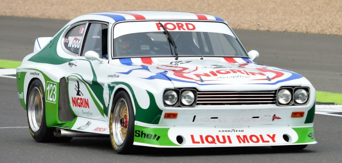 Ric Wood Ford Capri